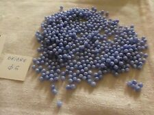 lot de 100 perle ancienne  HEMATITE ronde diam 6mm fd de stock vintage