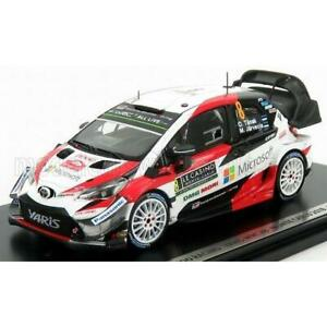 Spark Model Toyota Yaris WRC Team Toyota Gazoo Racing Wrt N 8 2nd Rally Montecar