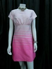 Ted Baker Parri Dress Size 2/UK 10  Pink Satin Mini Party Special Occasion dress