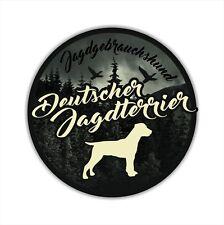 A _ JGh voiture autocollant deutscher jagdterrier Dumpling chien chiens siviwonder