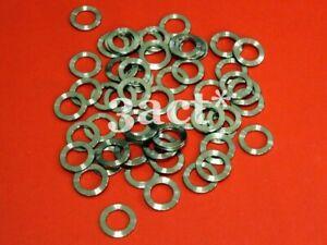 10pcs M8 Titanium / Ti Bolt Washer Nut (Fit Brake, Stem, Shifter)