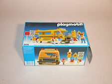 PLAYMOBIL 3170 SCHOOL BUS 1987 GERMANY NEAR MINT