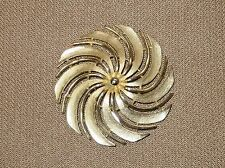 """VINTAGE SARAH COVENTRY. """"GOLDEN SWIRL""""  PIN FROM 1960"""