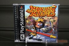 Monkey Magic (PlayStation 1, PS1 1999) Y-FOLD SEALED! - EXCELLENT! - ULTRA RARE!