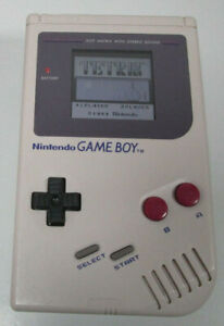 Nintendo Game Boy grau mit IPS LCD Display / Original Gehäuse