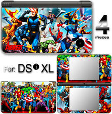Captain America Spider Man Iron Man Avengers Cool SKIN STICKER COVER For DSi XL