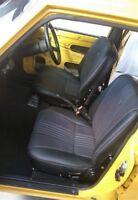 MAZDA RX2 CAPELLA SEAT MATERIAL VINYL TRIM 2 DOOR COUPE 4 SEDAN BLACK