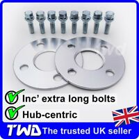 5MM ALLOY WHEEL SPACERS + BOLTS FOR MINI R50 R52 R53 (4X100 PCD 56.1MM) -2E8H31