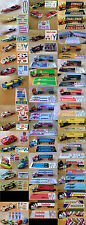 $8.75 AFX & TOMY Slot Car Repro Sticker Sets!!!