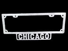 1926 1930 1935 1932 Chevrolet Dodge Ford V8 Chicago License Plate Frame Antique