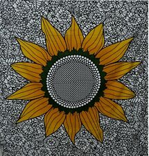 Indian Queen Wall Hanging Throw Decorative Mandala Floral Boho Wall Tapestry