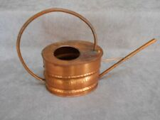 FRENCH Vintage COPPER Embossed WATERING CAN