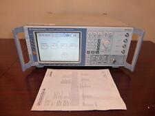 Rohde & Schwarz SMJ100A 100 kHz to 3 GHz Vector Signal Generator - CALIBRATED!