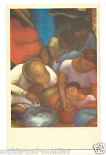 1930s Diego Rivera Fresco Postcard - Noche de Los Pobres/Night of the Poor