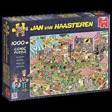 JUMBO JIGSAW PUZZLE POP FESTIVAL JAN VAN HAASTEREN 1000 PCS COMICS #19028