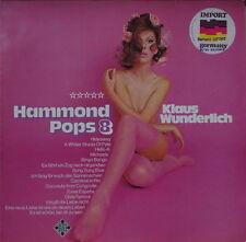 KLAUS WUNDERLICH HAMMOND POP 8 SEXY NUDE CHEESECAKE GERMAN PRESS LP