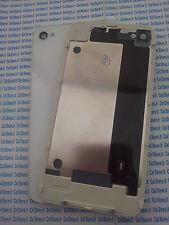 Cover vetro vetrino posteriore BIANCO copri batteria per iphone 4 4g scocca