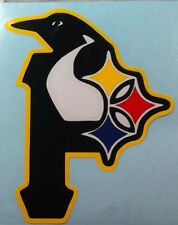 "12"" STEELERS, PIRATES, PENGUINS vinyl decal"