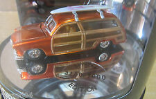 '49 Ford Station Wagon Designer's Choice Series Tire Car In Oil Can Display 1:64