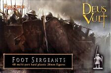 Fireforge Games - Deus Vult - Foot sergeants - 28mm
