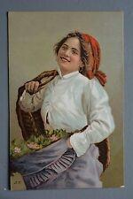 R&L Postcard: Stengel & Co Glamour Girl Portrait, European Woman