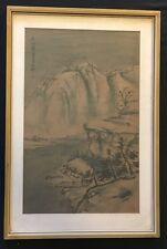 Shi Yan, Glückliche Kiefer, Aquarell, Original