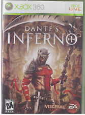 DANTE'S INFERNO  (Xbox 360, 2010)  INCLUDES INSTRUCTION