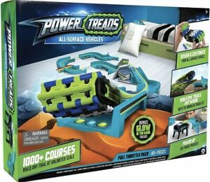 WowWee Power Treads All-Surface Toy Vehicles Full Throttle Pack Set New Limited