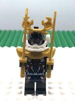 Lego Ninjago Samurai X Minifigure Masters Of Spinjitzu c/w Weapons