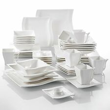 42-pieces KITCHEN DINNER SET PORCELAIN CERAMIC CHINA CROCKERY PLATE TABLEWARE
