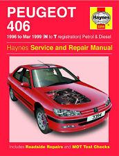 Reparaturhandbuch Peugeot 406 Benziner u. Diesel 96-99