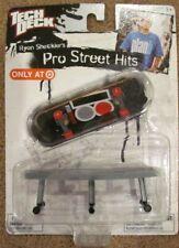 Tech Deck Pro Street Hits  Ryan Sheckler  NRFB  VHTF  fingerboard & bench
