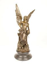 9973347-ds Bronzo Scultura Romano Dea Minerva