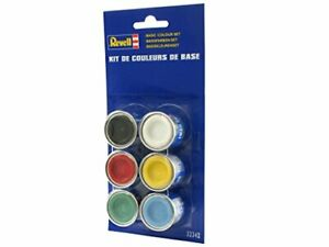 Revell 32342 32342-Base Colour Set 2, 6X Enamel Paints, Beige, 44 x 34 x 3 cm