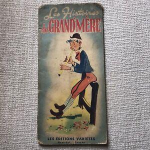 1940's Les Histoires De Grand'mère (Les Éditions Variétés) Montréal Canada