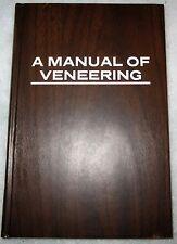 A Manual of Veneering Book Paul Villard