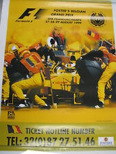 Poster Foster's Belgian Grand Prix Spa-Francorchamps 1999 (PBE)