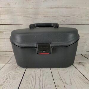 Samsonite   grey  Hard Shell   Vanity / Travel Case  hard case combination lock