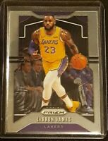 LEBRON JAMES 2019-20 PANINI PRIZM MINT BASE #129 LOS ANGELES LAKERS