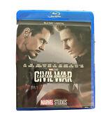 Marvel Captain America Civil War ( Blu-Ray DVD, 2019)