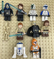 Lego Star Wars Minifigures Lot- CLONE WARS- Captain Rex, Anakin, Clone Troopers