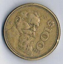 1984 MEXICO MEXICAN $100 PESO COIN EAGLE SNAKE