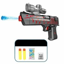 Desert Eagle Gun Water Ball Orbeez Paintball Airsoft Crystal Bullet Sound