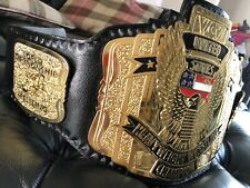 WCW United States Heavyweight Championship Belt, REPLICA . (real Leather )