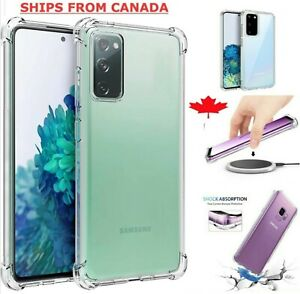 Clear Case For Samsung Galaxy S20 FE S20+ Plus Ultra Silicone Shockproof Cover