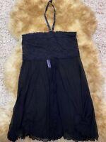 Okay black mesh Camisole Top sleepwear nightwear size M