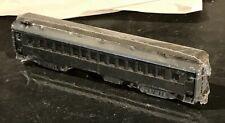 TT scale standard 60-ft clerestory roof passenger car, built from kit