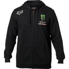 Fox Racing Mens Monster Energy Pro Circuit Zip Up Fleece Hoody Motocross Hoodie