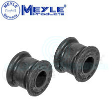 2x Meyle (Germany) Anti Roll Bar Bushes Front Axle Left & Right No: 014 032 0205