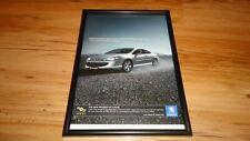 PEUGEOT 407 coupe-2006 framed original advert